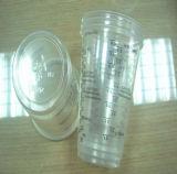 Plastik eingestuftes Teil-Cup-Maßnahme-Cup