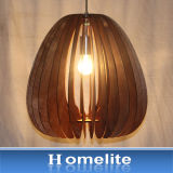 2016년 Homelite 최대 최신 판매 목제 펀던트 빛