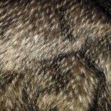 Tessuto lungo lavorato a maglia della pelliccia del mucchio