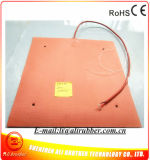 calefator da borracha de silicone de 250c 500*500mm para a impressora Cr-10