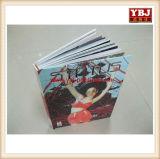 Tapa dura personalizada Hardbound brillante de la impresión de revistas