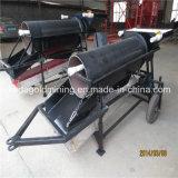 Kundenspezifische bewegliche alluviale Goldunterlegscheibe-Trommel-Maschine für Verkauf