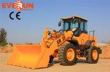 De Machines van Everun van Qingdao de Lader van het Wiel van het Type van VoordieEind van 3 Ton met Ce voor Verkoop wordt goedgekeurd