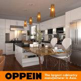 Oppein Марка Производитель Белый L Форма кухонный шкаф (OP15-L24)