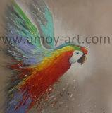 L'art moderne à la main Parrot peintures d'huile de style nordique pour la vente