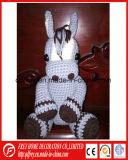 Giocattolo caldo del coniglio del Crochet del cotone di vendita per il prodotto del bambino