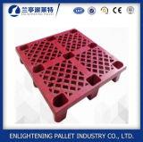 Do armazenamento claro do transporte do dever de China pálete plástica para a venda