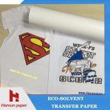 Het geschikt om gedrukt te worden Document van de Overdracht van de Hitte/Vinyl voor Donker/Licht Kledingstuk met Oplosbare Inkt Eco
