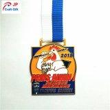 Medalla lisa modificada para requisitos particulares del metal del oro para el deporte
