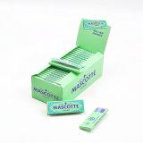 Papel de balanceo del cigarrillo del tabaco del cáñamo de Mascotte 70*144m m Weed
