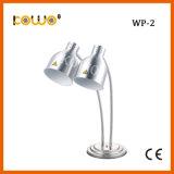 カウンタートップの電気ステンレス鋼のInfaredの食糧暖かいランプ