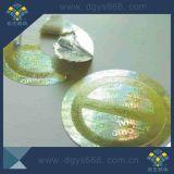 Sticker van de Laser van het Gebruik van één Keer de Zilveren