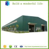 Birmania 7200m² amplia gama de fabricación de acero Taller de Diseño de Almacén