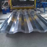 Azulejo de material para techos acanalado galvanizado Dx51d para la cubierta de acero