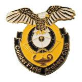 Estampado de Hierro de la Fábrica de BSCI Insignia Suave del Pin del Esmalte para el Club
