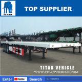 Plattform-Behälter-Flachbettschlußteil-Sattelschlepper des Titan-40FT für Verkauf