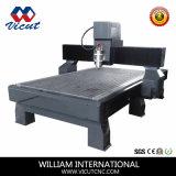 Sola máquina de grabado principal del CNC de la máquina de la carpintería del ranurador del CNC de madera