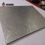 Embossing PVDF Coated eXternal Aluminum Corrugated panel (gold Metallic 011)