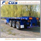 Della Cina del camion del rimorchio dei fornitori del contenitore rimorchio a base piatta semi da vendere