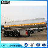 3つの車軸特別な手段のステンレス鋼のディーゼル油のガソリン燃料タンクのトレーラー32000リットルの