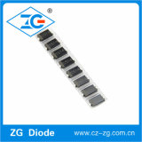 El rectificador de barrera Schottky de montaje en superficie de 1 A 20V-100V el Tc12-SS110