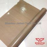 Le téflon haute résistance à la température de tissu de fibre de verre