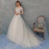 2018 off плечо кружева устраивающих свадебные платья Fll801