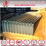 Feuille ondulée enduite de toiture de zinc de SGCC Sgch