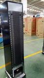 Mesa comercial Slim Type Refrigerantes Exposição vertical Vitrina de refrigeração