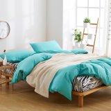 明白なタケファイバーの寝室の寝具のシーツセット