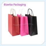 Imprimé Coloré promotionnel sac cadeau en papier brun