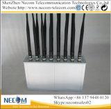 De Mobiele Breker van het Signaal van de Telefoon wi-FI, het Slimme Blokkerende Apparaat van het Signaal van de Telefoon, de Blokkerende Cellulaire Stoorzender van de UHF-radio +WiFi+GPS+Lojack+433+315MHz +VHF//Blocker met 14 Banden