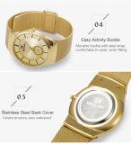 OEM van het Horloge van Belbi kiest Dun Westelijk Polshorloge Drie van de Mensen van de Douane van het Embleem van het Roestvrij staal van Japan Movt van Horloges Kleur voor