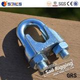 Abrazadera de cuerda galvanizada DIN741 de alambre del hierro maleable