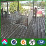 Due piani prefabbricati per la costruzione di memoria e dell'ufficio