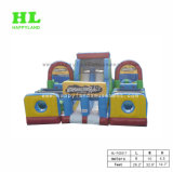 Happylandの遊園地の競争の膨脹可能な障害