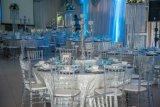 Silla clara de Tiffany de la silla de Chiavari de la resina para el partido, acontecimiento, Wedding (M-X1150)