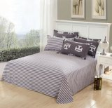 中国の製造者の工場直接版画コレクションの綿の敷布