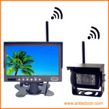 sistema alternativo sem fio de opinião traseira do carro de 2.4gz hertz com câmera e monitor