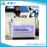 Pionier-DJ legen, der bewegliche DJ-Geräten-Tisch ver und falten DJ-Stand