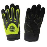 Перчатки защитной синтетической кожи безопасности для деятельности механически работы