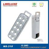 illuminazione di soccorso ricaricabile di 10PCS LED