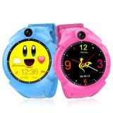 Kind Q610 Smartwatch W Kamera-Unterseiten-Standort-Screen-Kind-Handgelenk-Band APP-PAS Anti-Verlorene Monitor-Baby Brecelet intelligente Uhr