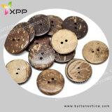 2h bouton de coquille de noix de coco naturel