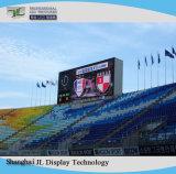 Haute luminosité P10 Outdoor plein écran à affichage LED de couleur avec HD vidéo publicitaire de P10 du panneau du module