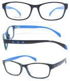 一義的な様式の光学フレームガラスの先端のアセテートの読書接眼レンズ