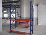 Unidade média colorida Yd-R6 do Shelving da prateleira das prateleiras do armazenamento 4 do repouso da garagem da cremalheira do Shelving do metal do dever