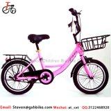 2017 nouveau style de vente chaud rose clair vélo pour les enfants de 16 pouces pour les filles