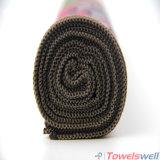 Toalla caliente absorbente impresa de la yoga de Microfiber Microfiber