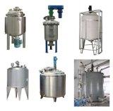 depósito mezclador de acero inoxidable revestido de aceite de la química
